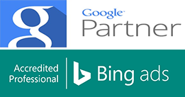 google and bing partners badge
